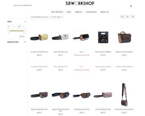 58workshop.com